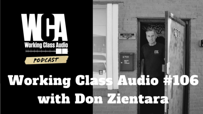 WCA #106 with Don Zientara