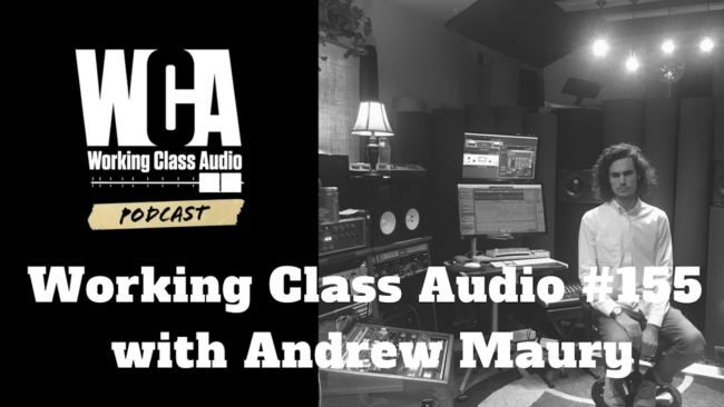 WCA #155 with Andrew Maury