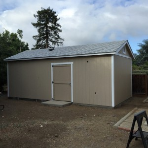 03 Complete outside From Tuff Shed